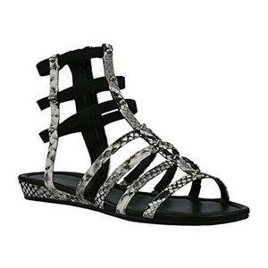NIB Marc Fisher Snake Studded Gladiator Sandal 8.5